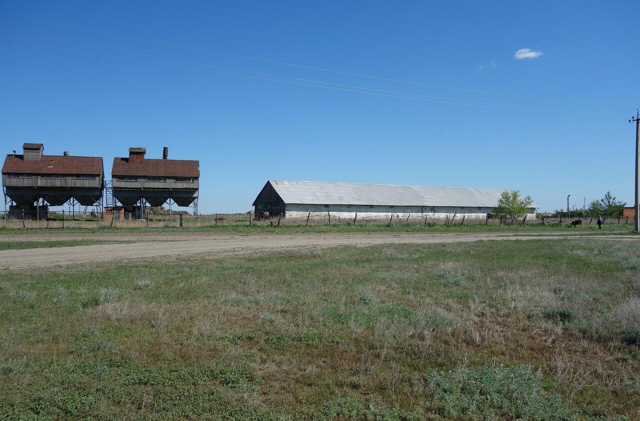 зерноток и ферма