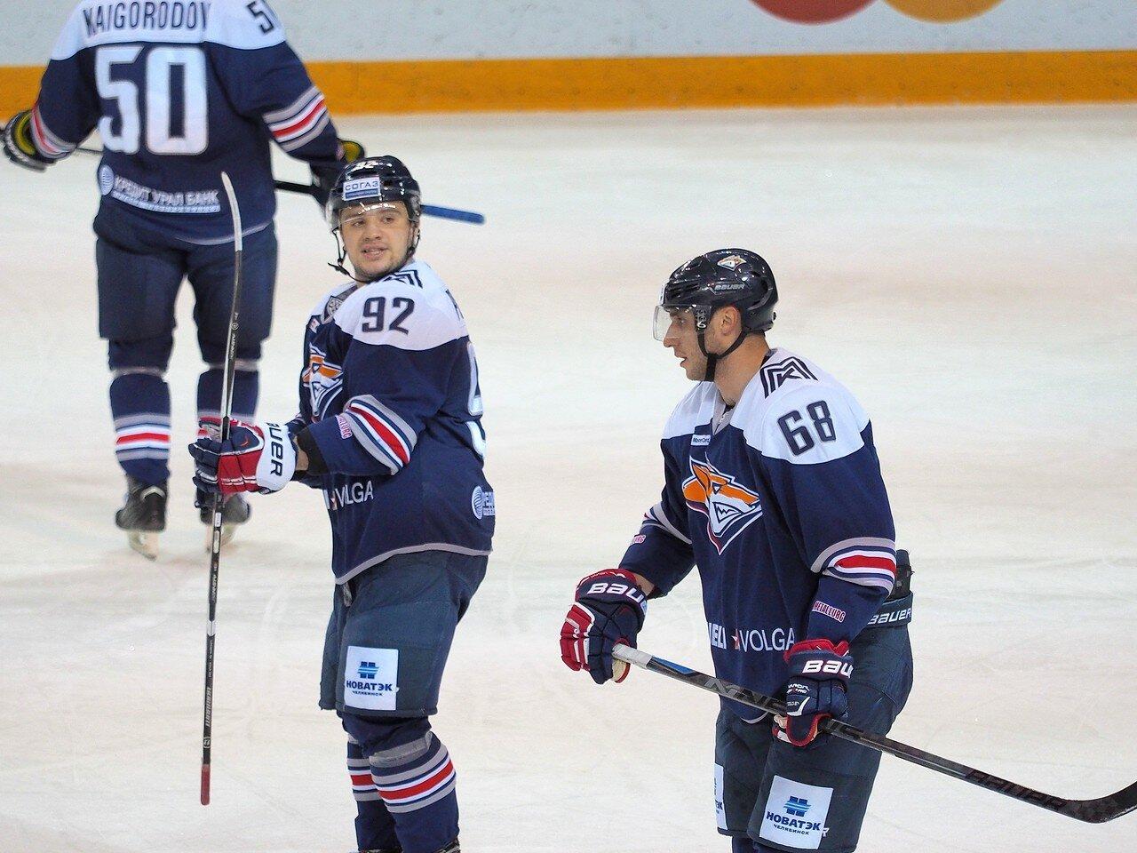 63Восток 1/4 плей-офф Металлург - Автомобилист 01.03.2016