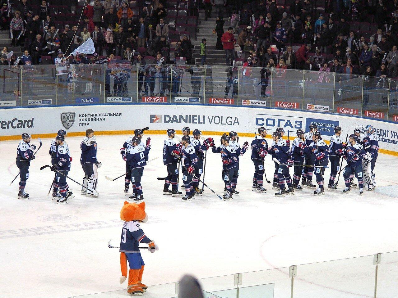 131Восток 1/2 плей-офф Металлург - Сибирь 08.03.2016