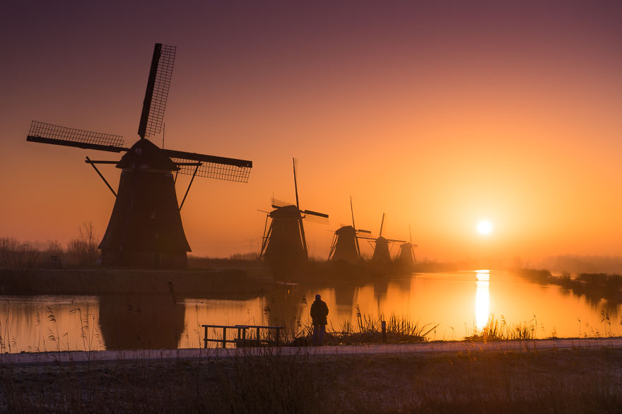 Эффектные городские и природные пейзажи Нидерландов