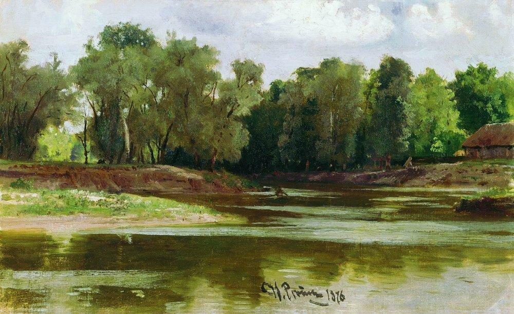 Берег реки. 1876.jpg