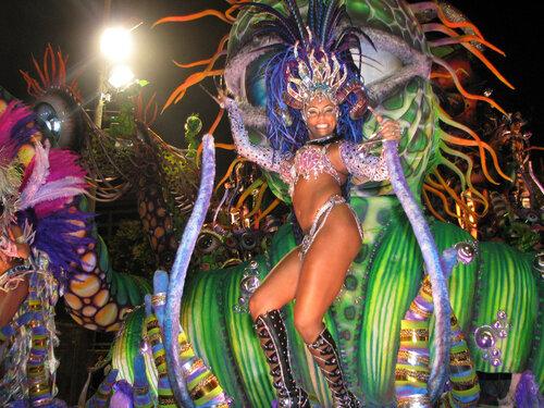Карнавал самбы в Бразилии