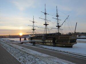 Фрегат Флагман - Новый год в Великом Новгороде