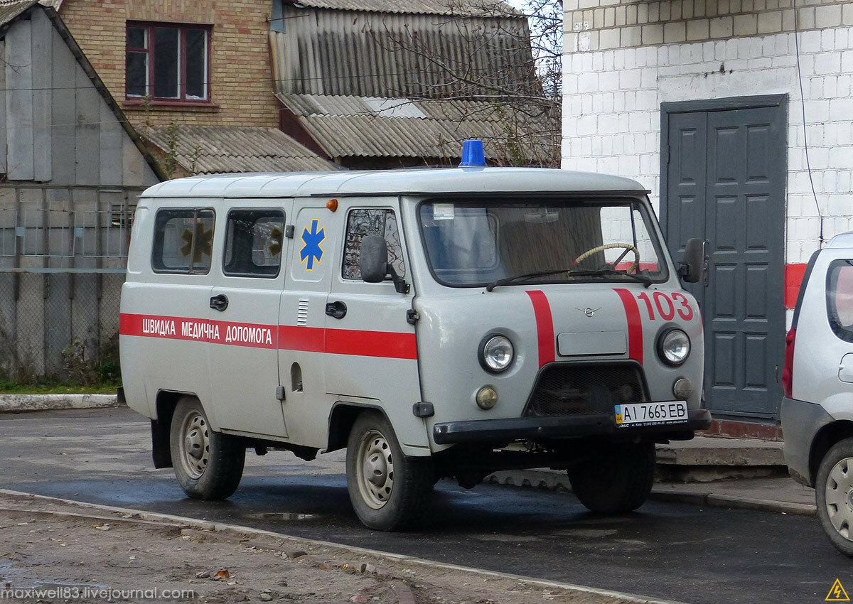 УАЗ-39625 Швидка медична допомога