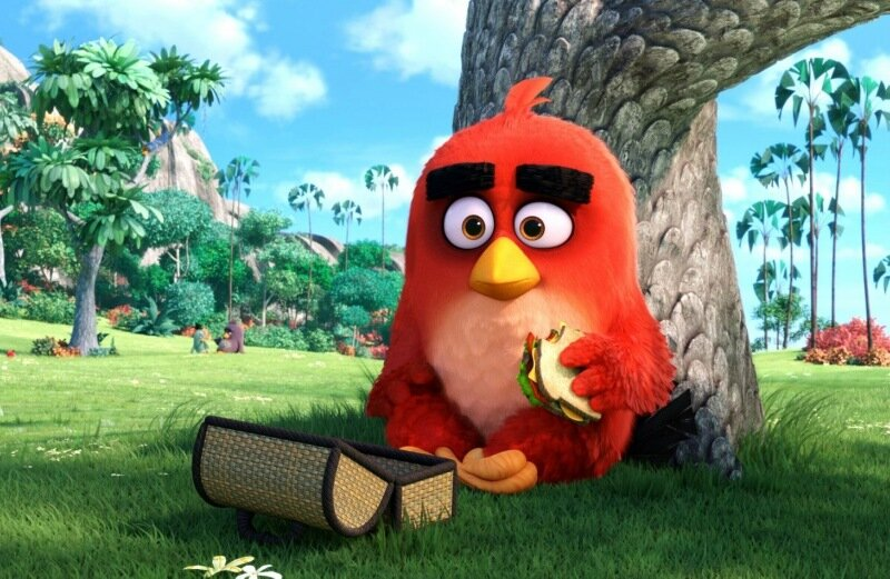 ������� ����������� Angry Birds � ����