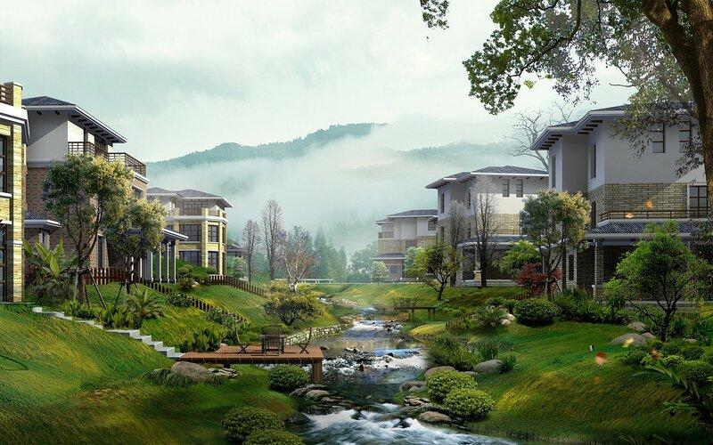 Красивые китайские пейзажи. Фотографии природы Китая, похожей на картины 0 1c4d3c 36fd7b66 XL