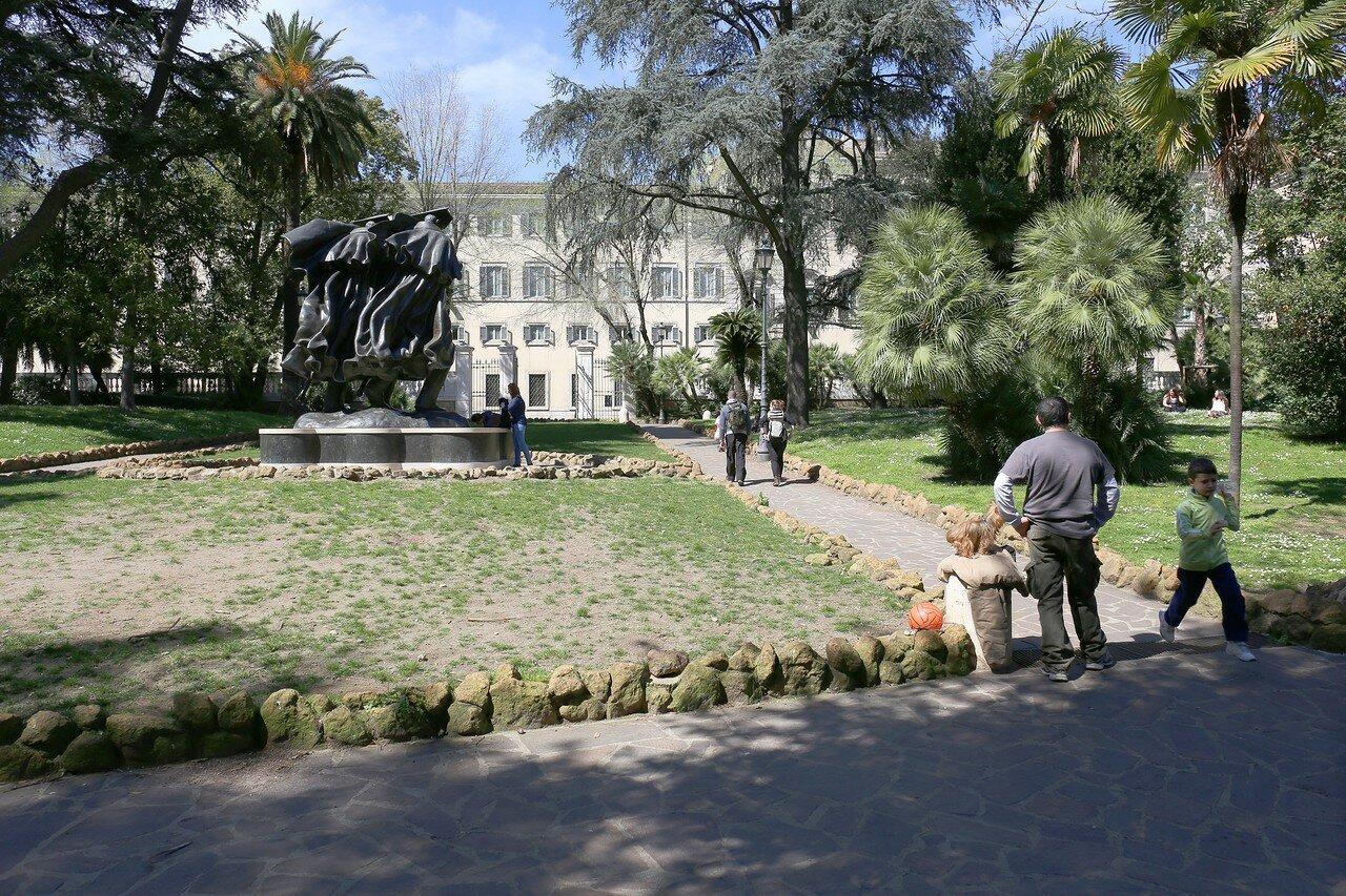 Рим. Парк Сант-Андреа у Квиринале (Giardino di Sant'Andrea al Quirinale)