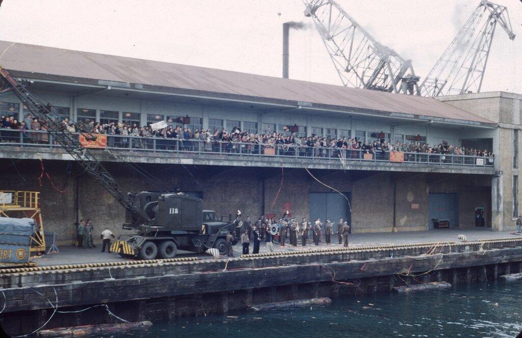 Sasebo dockside