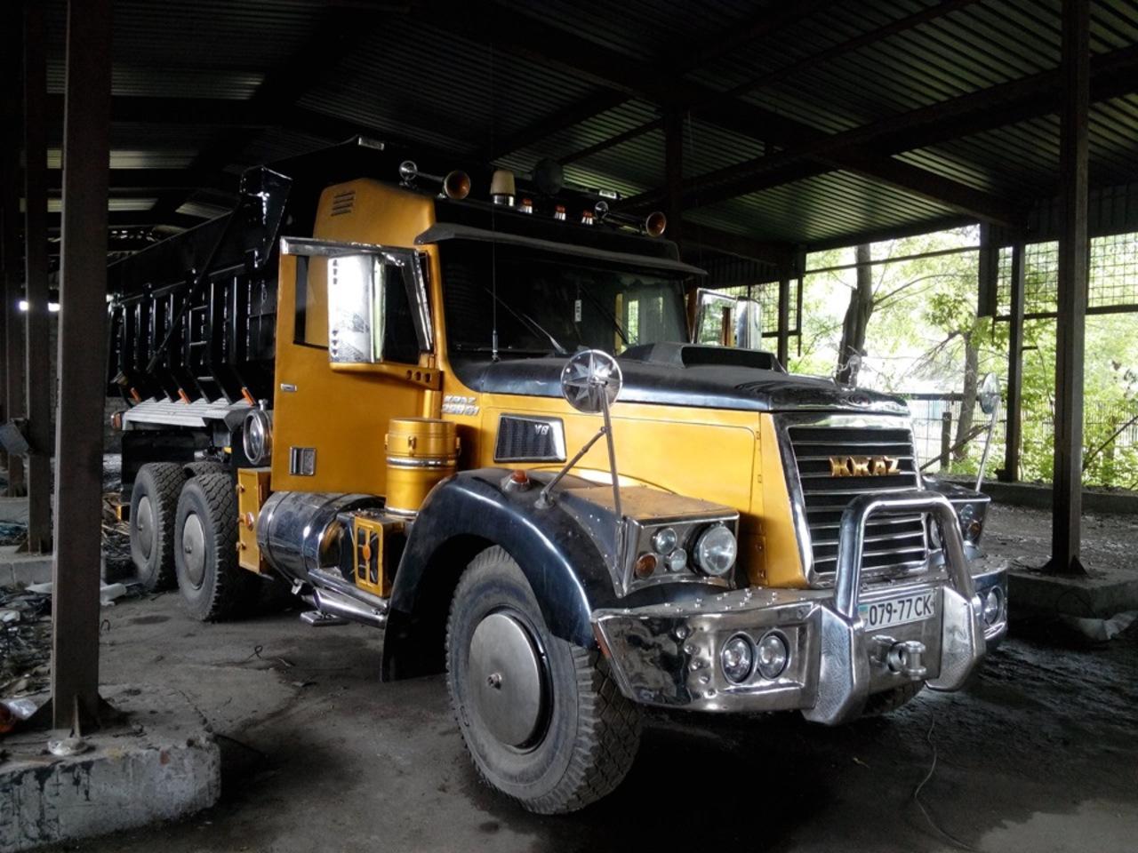 Тюнинг рабочего грузовика КрАЗ-256