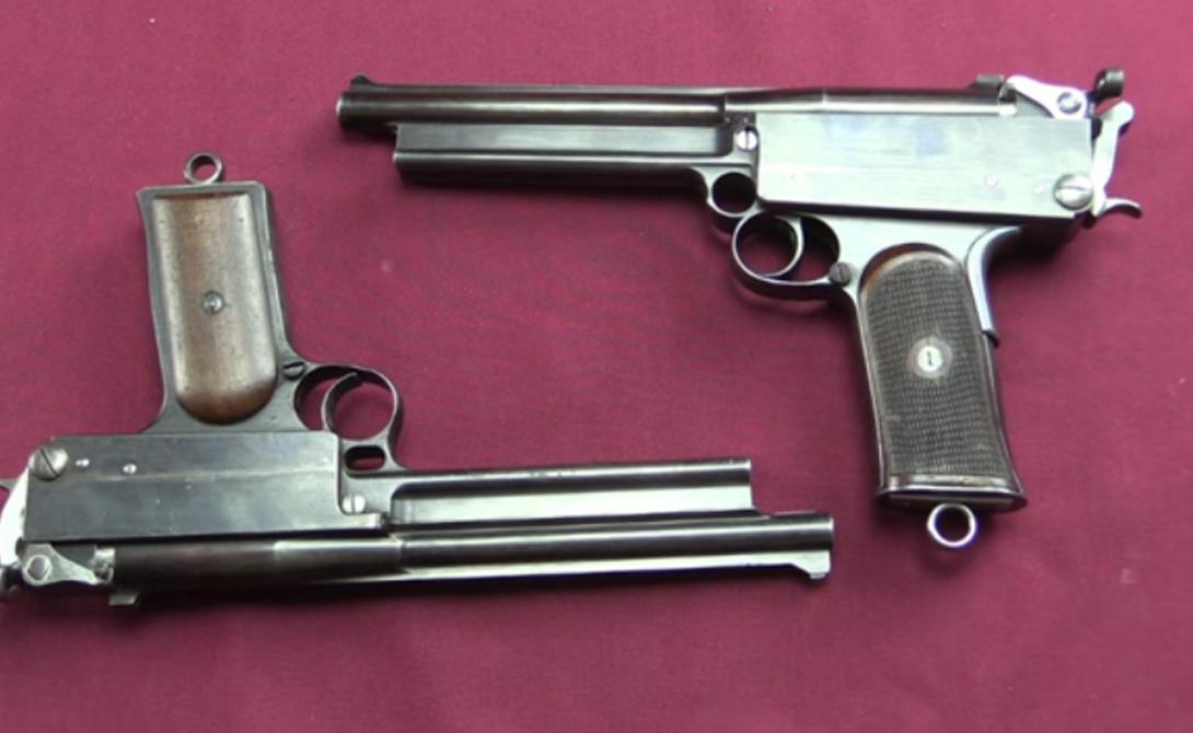 Страна: Великобритания Был введен в эксплуатацию: 1900 Тип: пистолет Дальность поражения: 300 метров