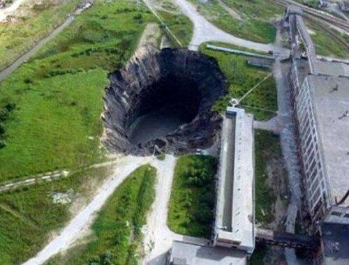 Самые гигантские провалы на Земле