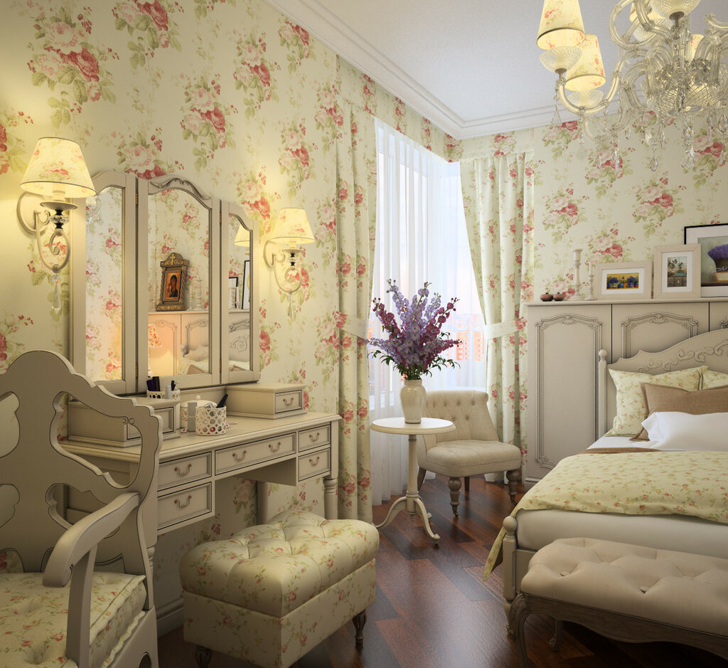 Спальня стиль прованс фото интерьер своими руками 912