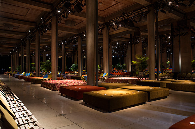 AMO Show Space for Miu Miu FW16 Runway - Archiscene - Your Daily Architecture & Design Update
