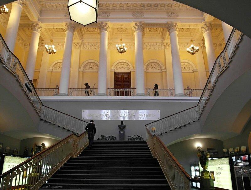 Парадная лестница Михайловского дворца