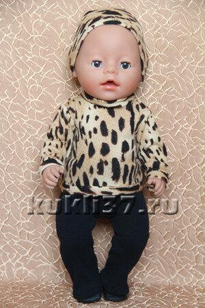 свитер для куклы Baby Born