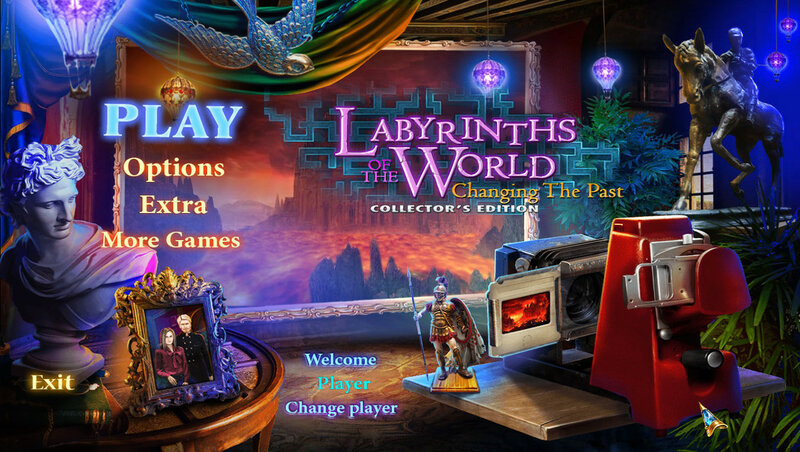 Labyrinths of the World: Changing the Past CE