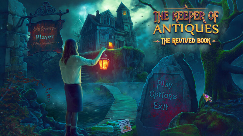 The Keeper of Antiques: The Revived Book