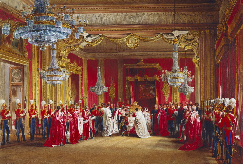 Investiture of the Order of the Bath, 7 July 1855