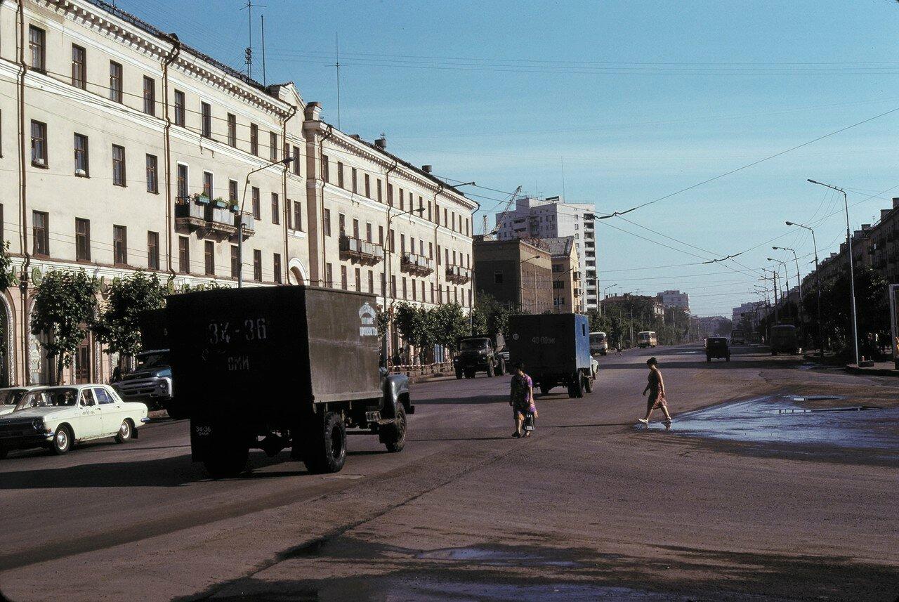 Омск. Главная улица