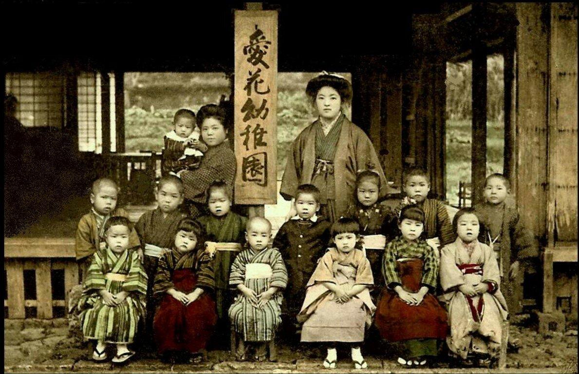 Сюри. Детский сад.1907