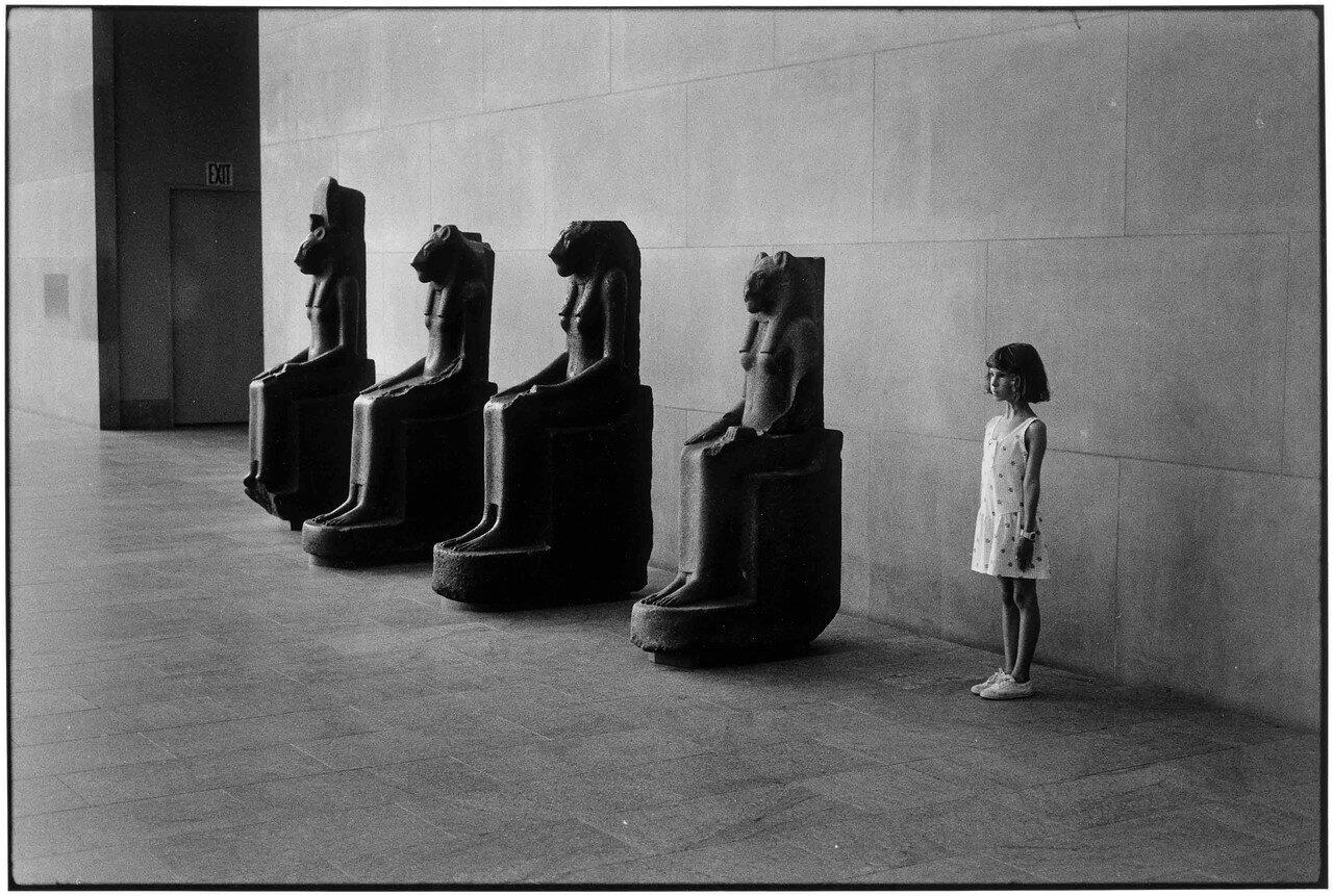 1988. Нью-Йорк. Музей Метрополитен