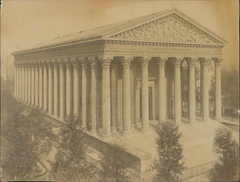 1889. Церковь Мадлен