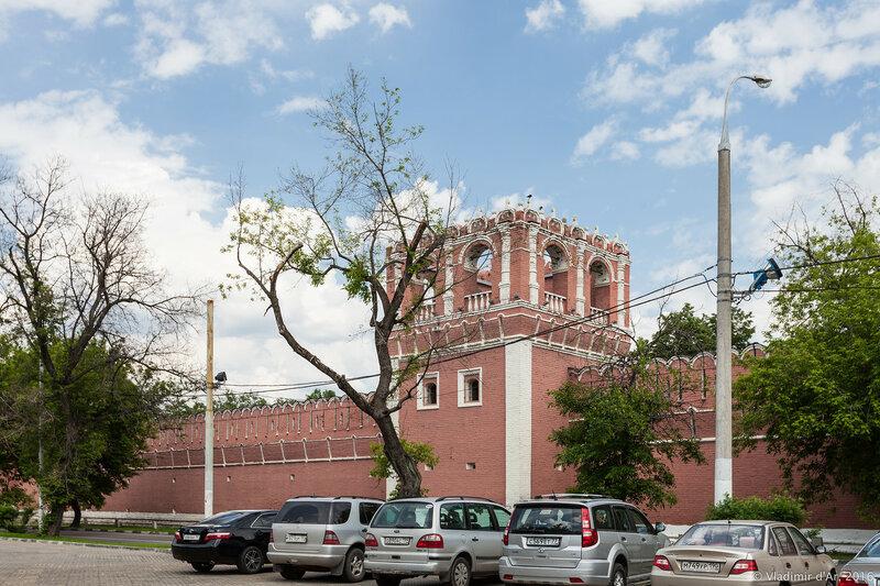 Юго-западная башня Донского монастыря