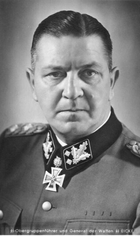 «Красная звезда», 12 марта 1943 года, Теодор Эйке - обергруппенфюрер, генерал войск СС