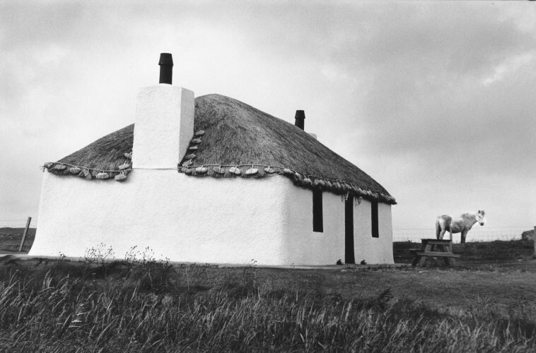 SCOTLAND. 2012. Traditional white house, South Uist, Outer Hebrides.jpg