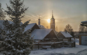 Снег и солнце