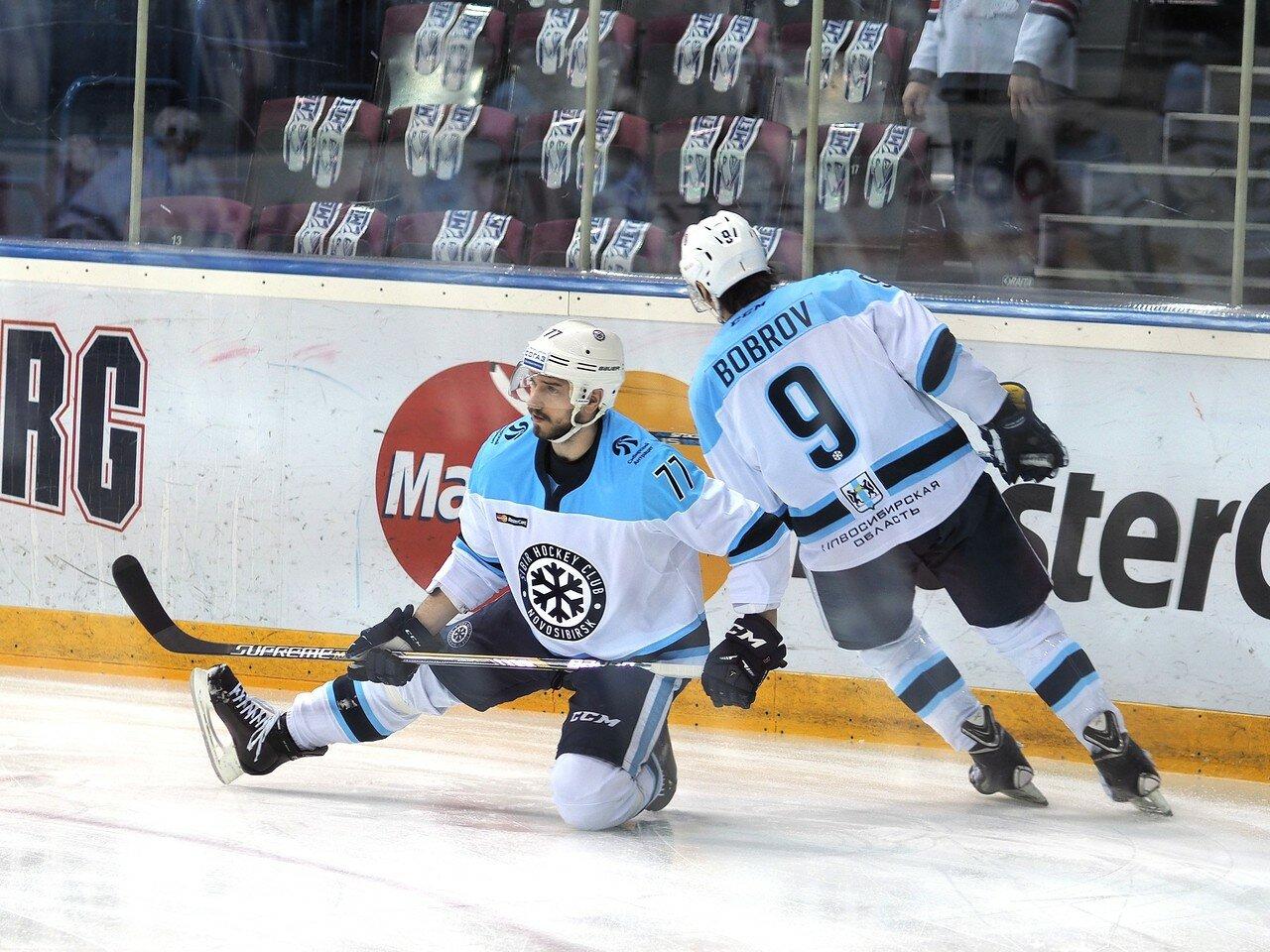 5Восток 1/2 плей-офф Металлург - Сибирь 08.03.2016