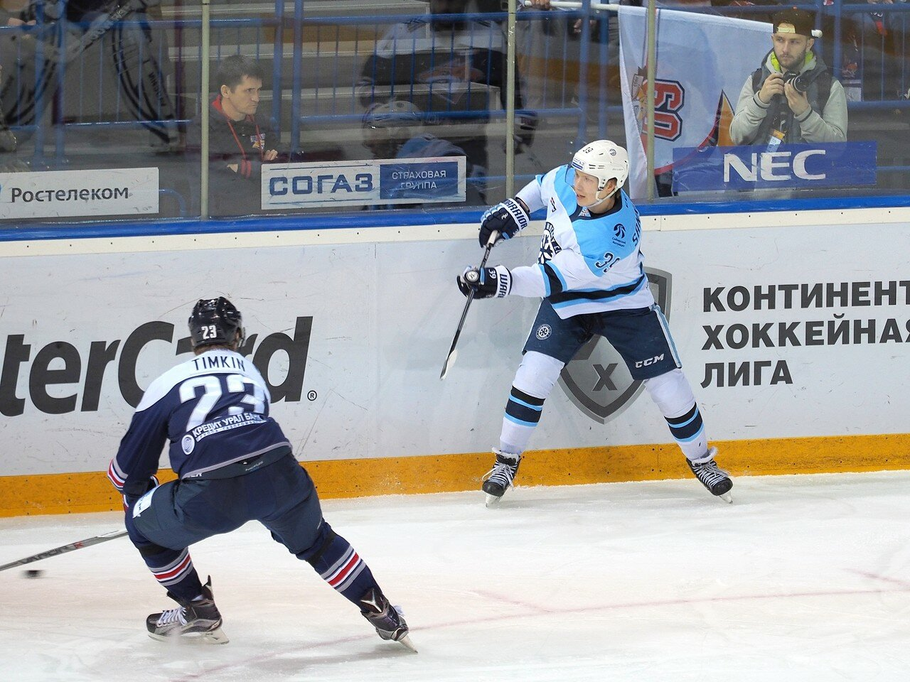 66Восток 1/2 плей-офф Металлург - Сибирь 08.03.2016