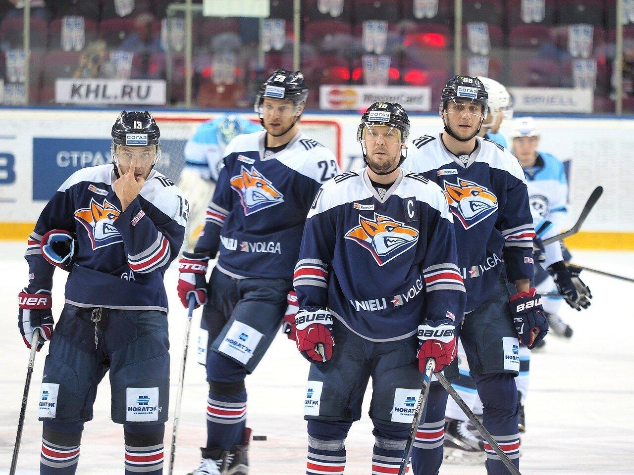 36Плей-офф 2016 Восток 1/2 Металлург - Сибирь 10.03.2016
