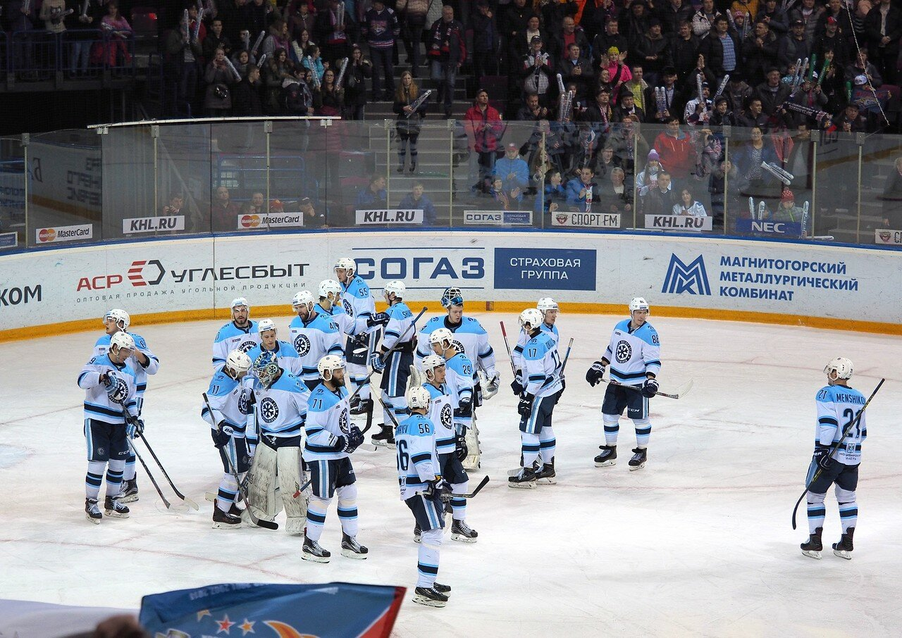 76Плей-офф 2016 Восток 1/2 Металлург - Сибирь 16.03.2016
