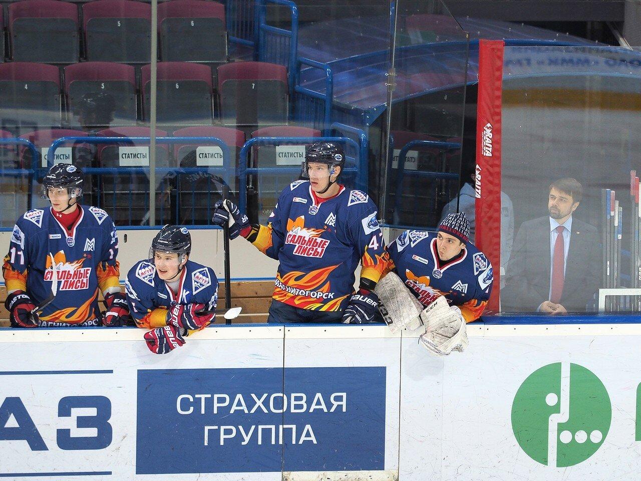15Плей-офф МХЛ 2016 1/4 Стальные Лисы - Сибирские Снайперы 21.03.2016