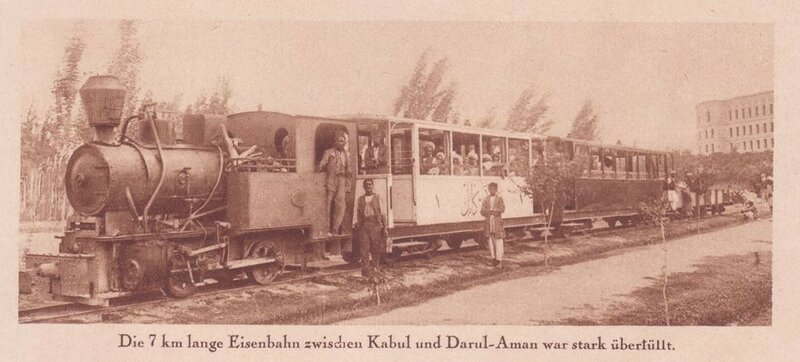 1930 short-lived narrow gauge railway which ran for 7 km between Kabul and Darulaman.jpg