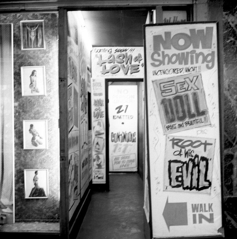 London Scenes - Soho - Pornography - 1966