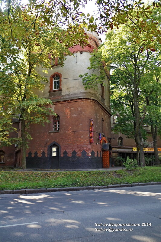 Оборонительная казарма Кронпринц, Калининград