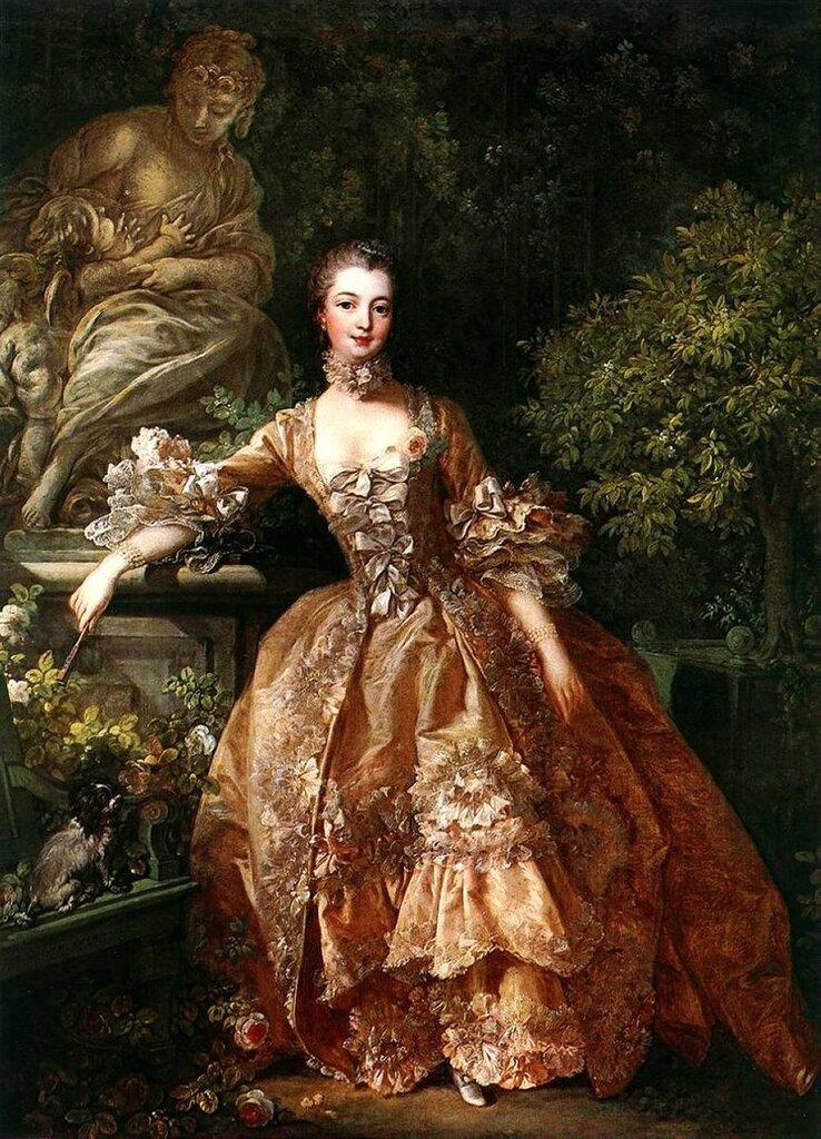 90.Портрет маркизы де Помпадур (1759) (91 × 68) (Лондон, Собрание Уоллес).jpg