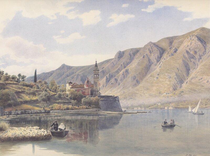 Rudolf_von_Alt_-_Ansicht_von_Dobrota_gegen_Mula_bei_Cattaro_-_1841.jpg