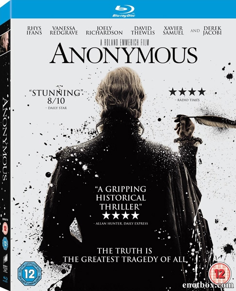 Аноним / Anonymous (2011/BDRip/HDRip)