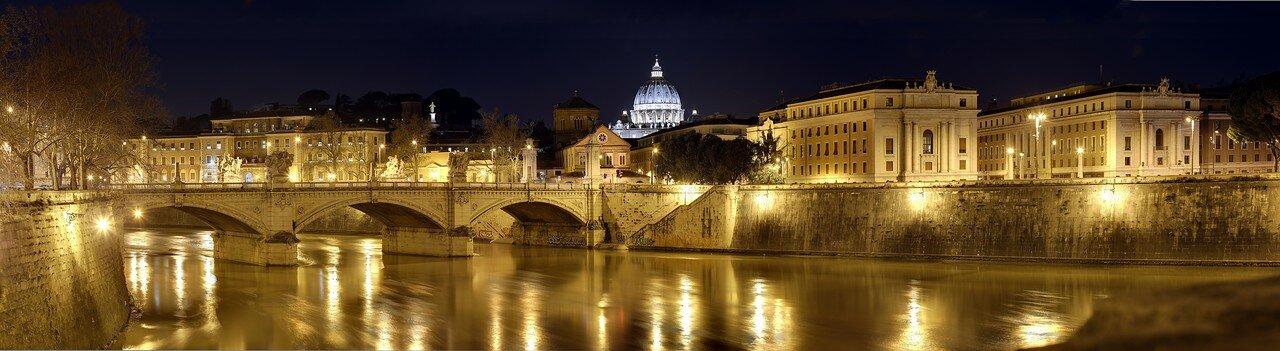 Рим. Мост Виктора Эмануила II
