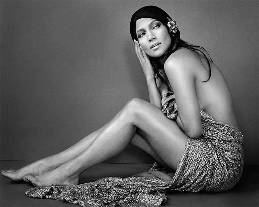 Певица и актриса Дженнифер Лопес.
