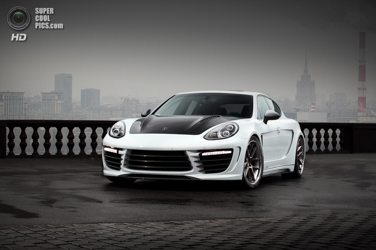 Россияне доработали Porsche Panamera (19 фото)