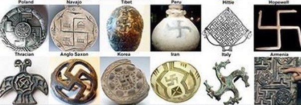Древние символы свастики