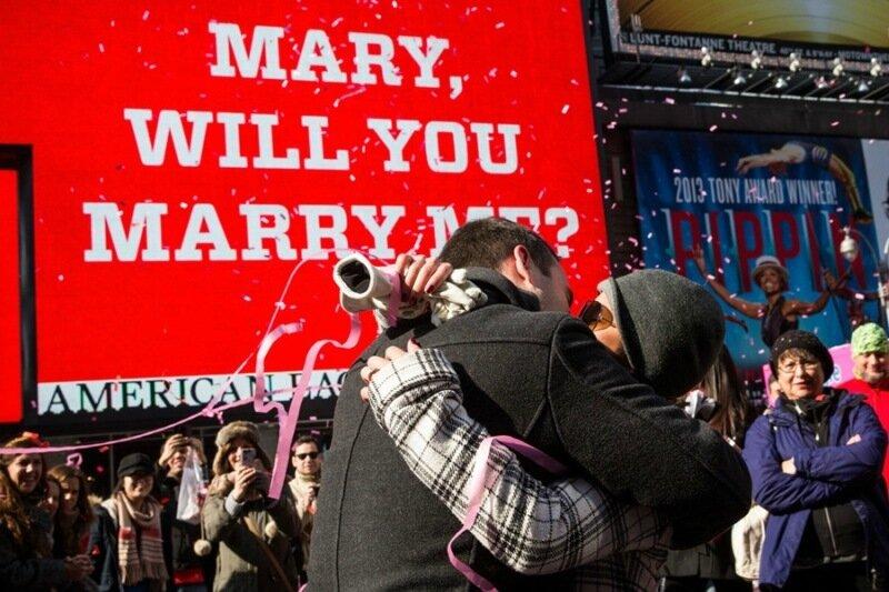 10 самых необычных способов сделать предложение в День всех влюбленных