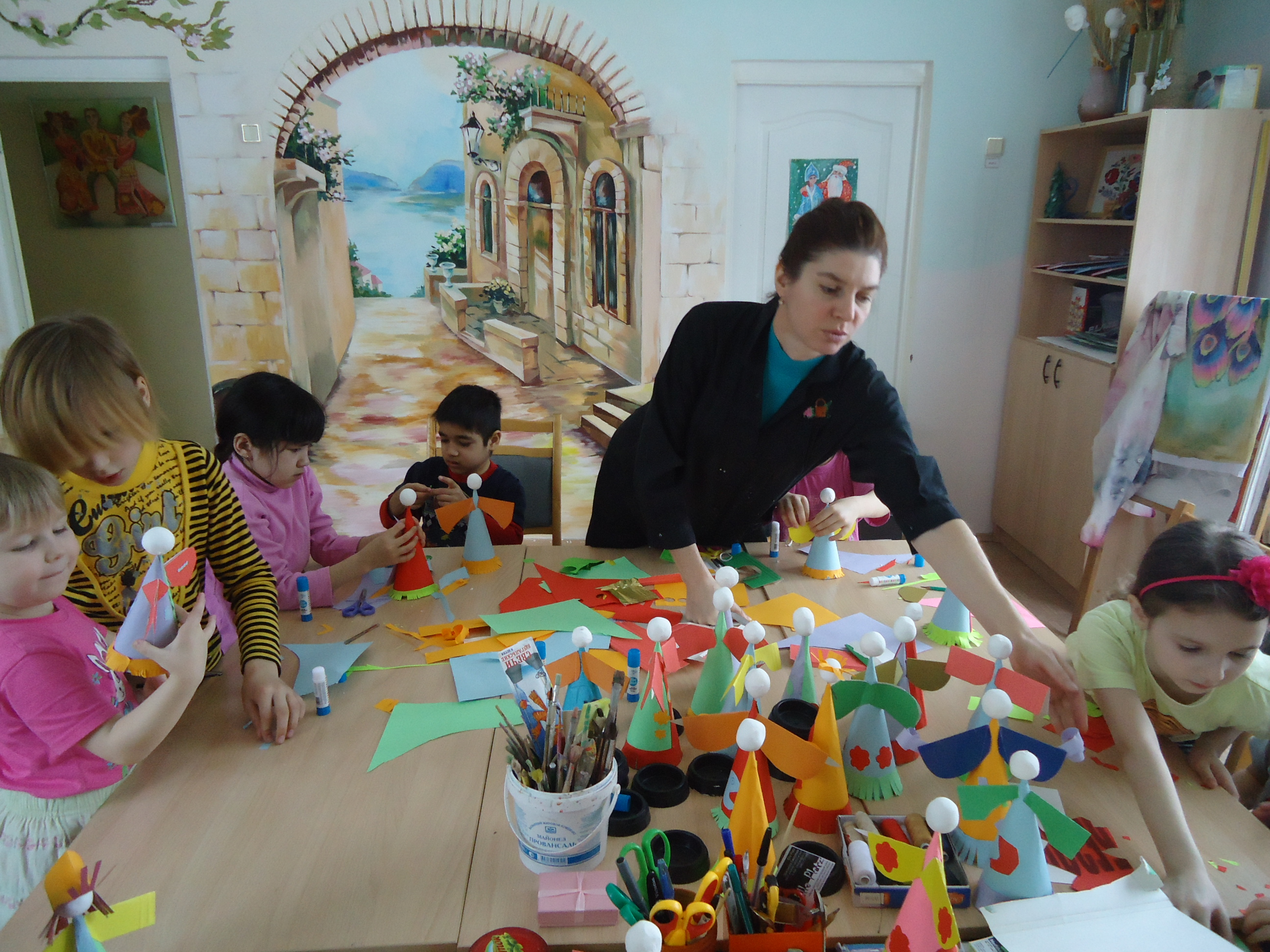 Сувениры на праздник детскими руками