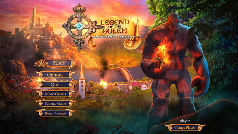 Royal Detective: Legend Of The Golem CE