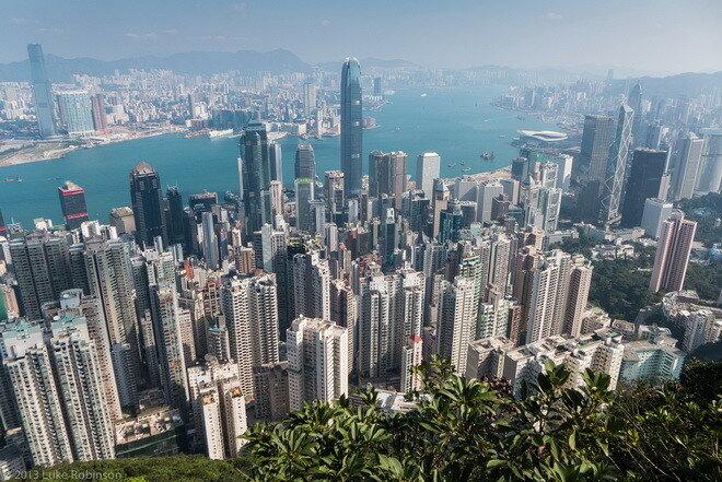 Пик Виктории. Гонконг