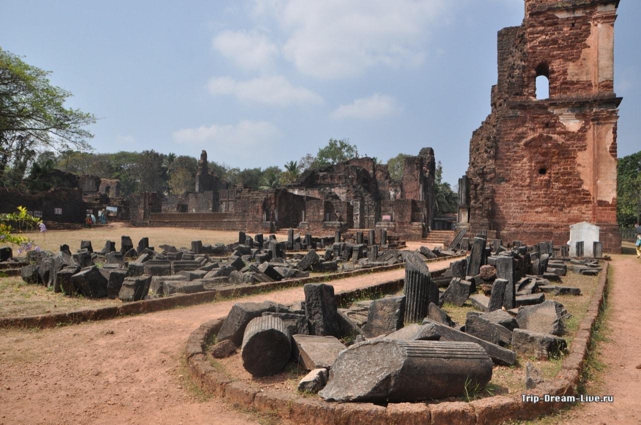 Развалины монастыря святого Августина, Старый Гоа